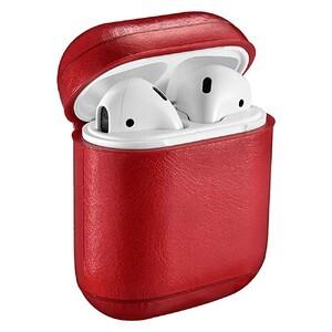 Купить Кожаный чехол iCarer Vintage Series Red для Apple AirPods
