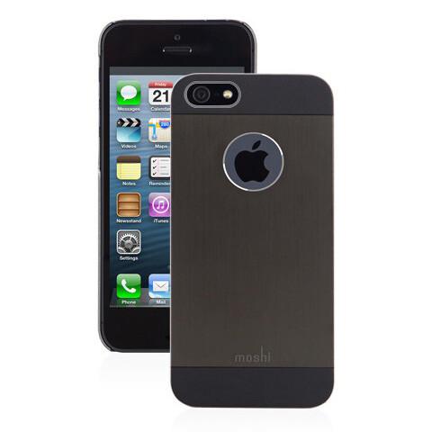 Чехол moshi iGlaze Armour Black для iPhone 5/5S/SE