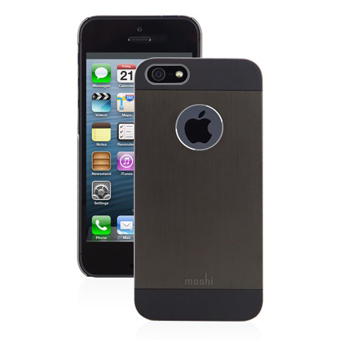 Чехол moshi iGlaze Armour Black для iPhone 5/5S/SE