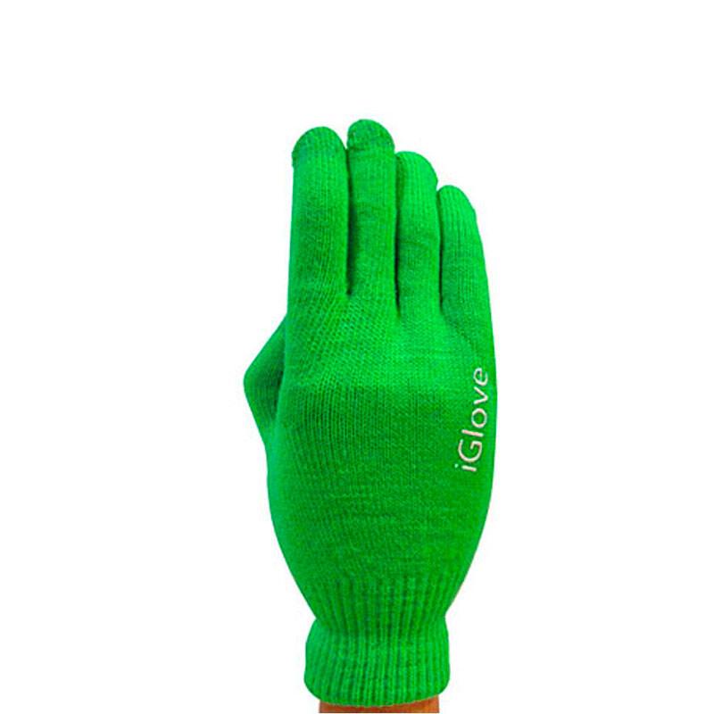 Перчатки iGlove для сенсорных экранов iPhone, iPad, iPod Салатовые