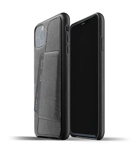Купить Кожаный чехол MUJJO Full Leather Wallet Case Black для iPhone 11 Pro