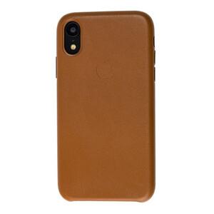 Кожаный чехол iLoungeMax Leather Case Saddle Brown для iPhone XR OEM