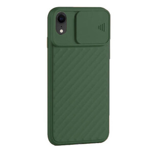 Купить Силиконовый чехол iLoungeMax Protection Anti-impact Luxury Green для iPhone XR
