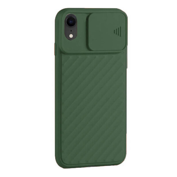Силиконовый чехол iLoungeMax Protection Anti-impact Luxury Green для iPhone XR