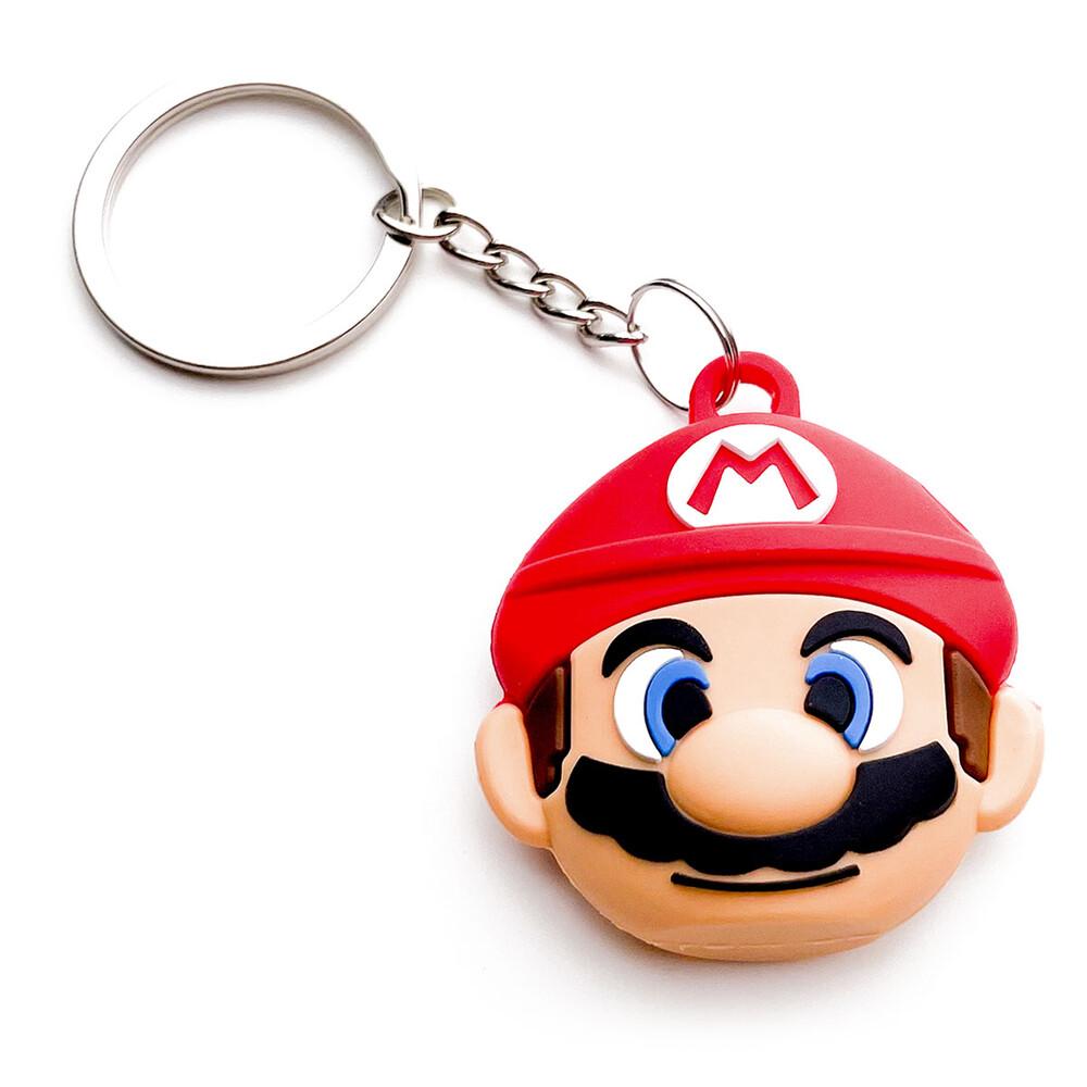 Силиконовый брелок с кольцом iLoungeMax Funny Cartoon Case Mario для AirTag