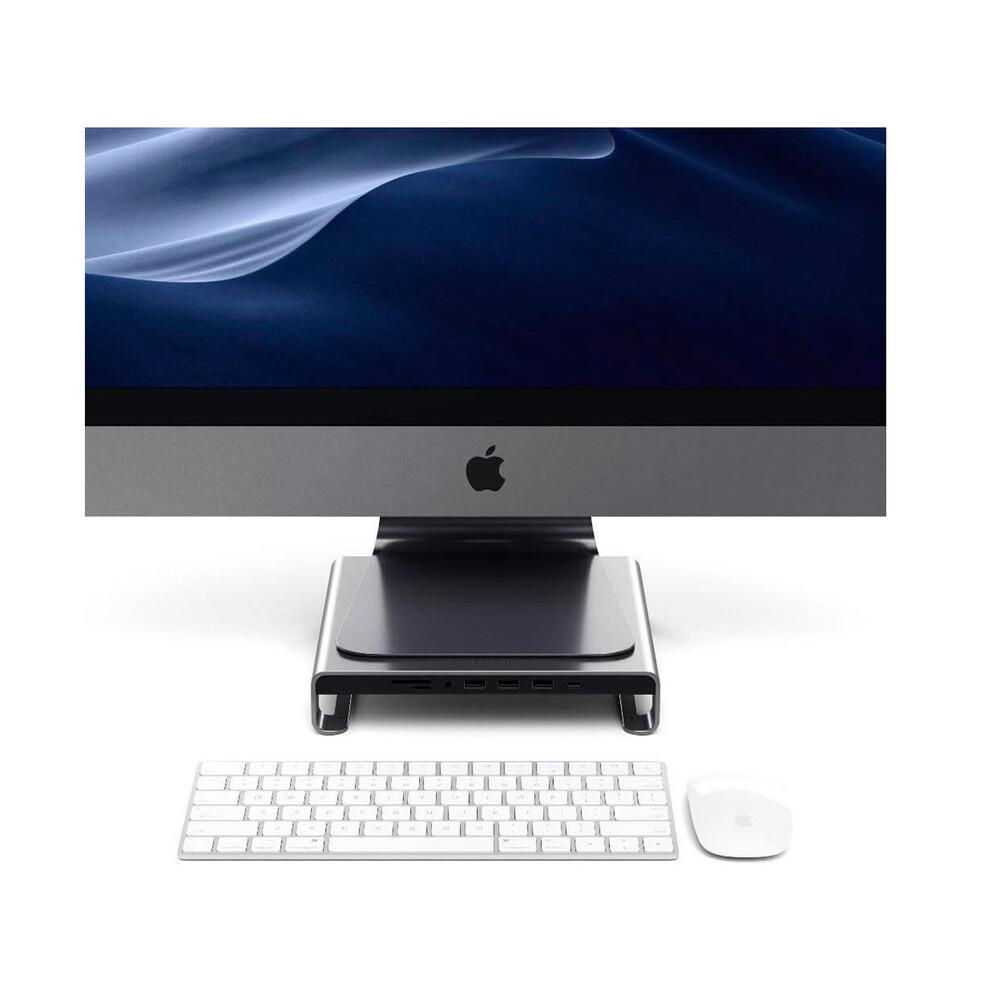Купить Алюминиевая подставка для iMac Satechi Type-C Aluminium Monitor Stand Space Gray