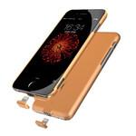Ультратонкий чехол-аккумулятор iMUCA Slim Power Gold для iPhone 7 Plus