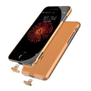 Купить Ультратонкий чехол-аккумулятор iMUCA Slim Power Gold для iPhone 7 Plus