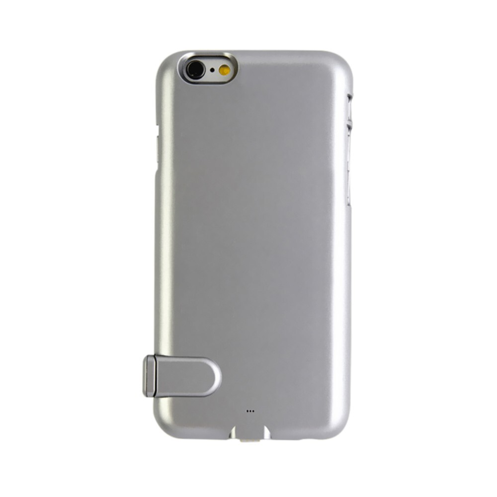 Ультратонкий чехол-аккумулятор iMUCA Slim Power Gray для iPhone 7/8