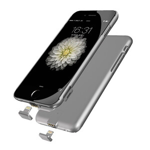 Купить Ультратонкий чехол-аккумулятор iMUCA Slim Power Gray для iPhone 7 Plus