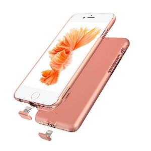 Купить Ультратонкий чехол-аккумулятор iMUCA Slim Power Rose Gold для iPhone 7 Plus