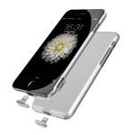Ультратонкий чехол-аккумулятор iMUCA Slim Power Silver для iPhone 7 Plus/8 Plus