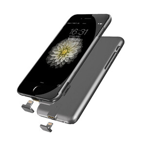 Купить Ультратонкий чехол-аккумулятор iMUCA Slim Power Gray для iPhone 7/8