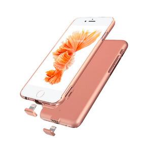 Купить Ультратонкий чехол-аккумулятор iMUCA Slim Power Rose Gold для iPhone 7/8