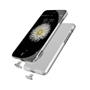 Купить Ультратонкий чехол-аккумулятор iMUCA Slim Power Silver для iPhone 7/8