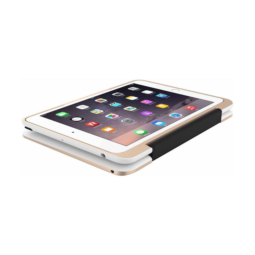 Чехол-клавиатура Incipio ClamCase Pro White & Gold для iPad mini 3/2/1