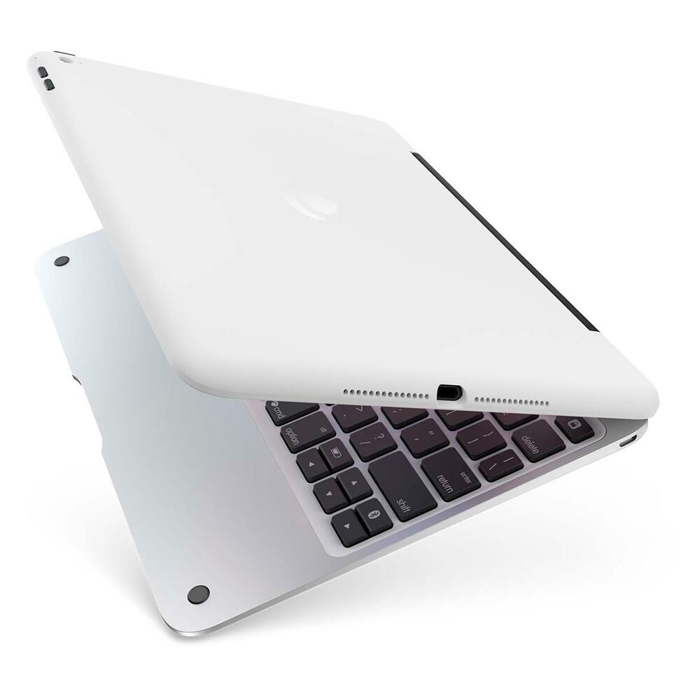 Чехол-клавиатура Incipio ClamCase Pro White & Silver для iPad Air 2