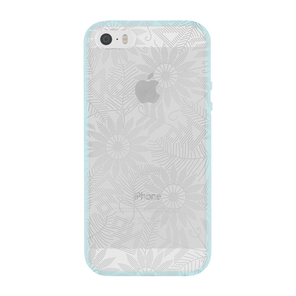 Чехол Incipio Beaded Daisy Design Series Silver для iPhone 5/5S/SE