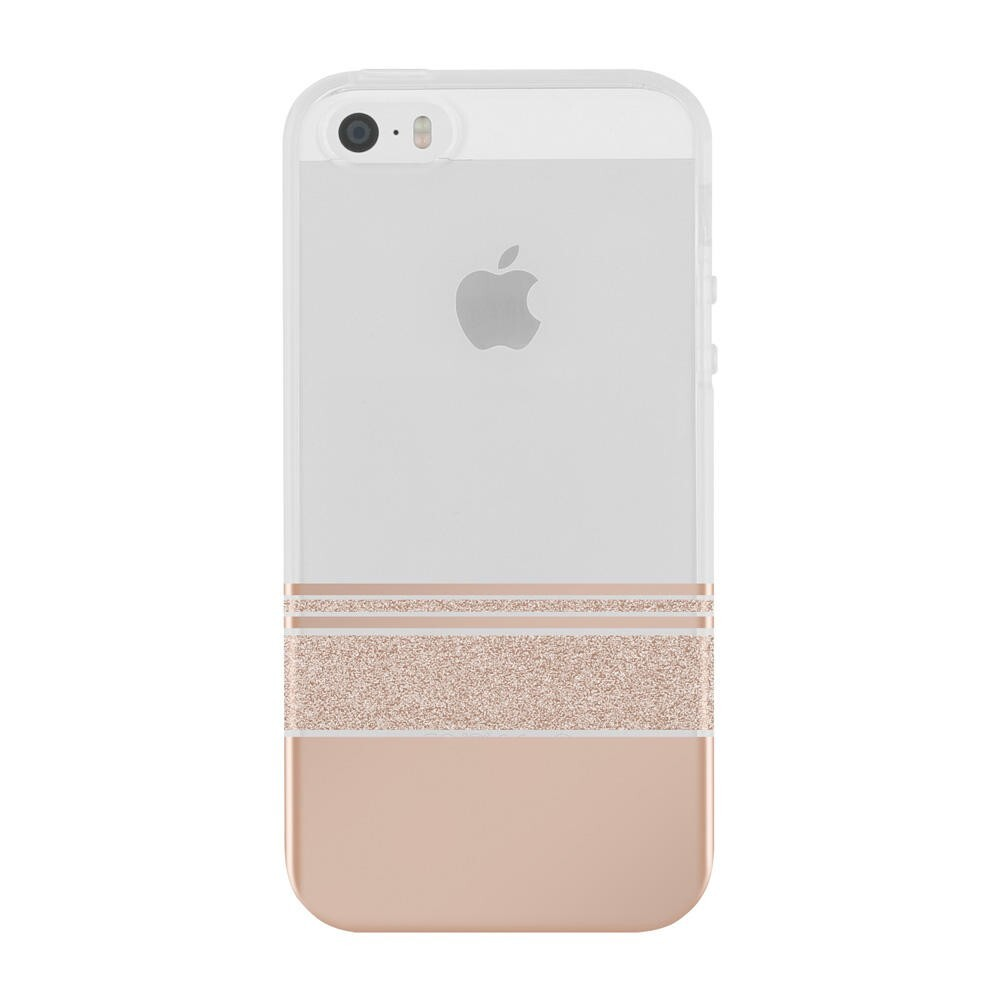 Чехол Incipio Wesley Stripes Design Series Rose Gold для iPhone 5/5S/SE