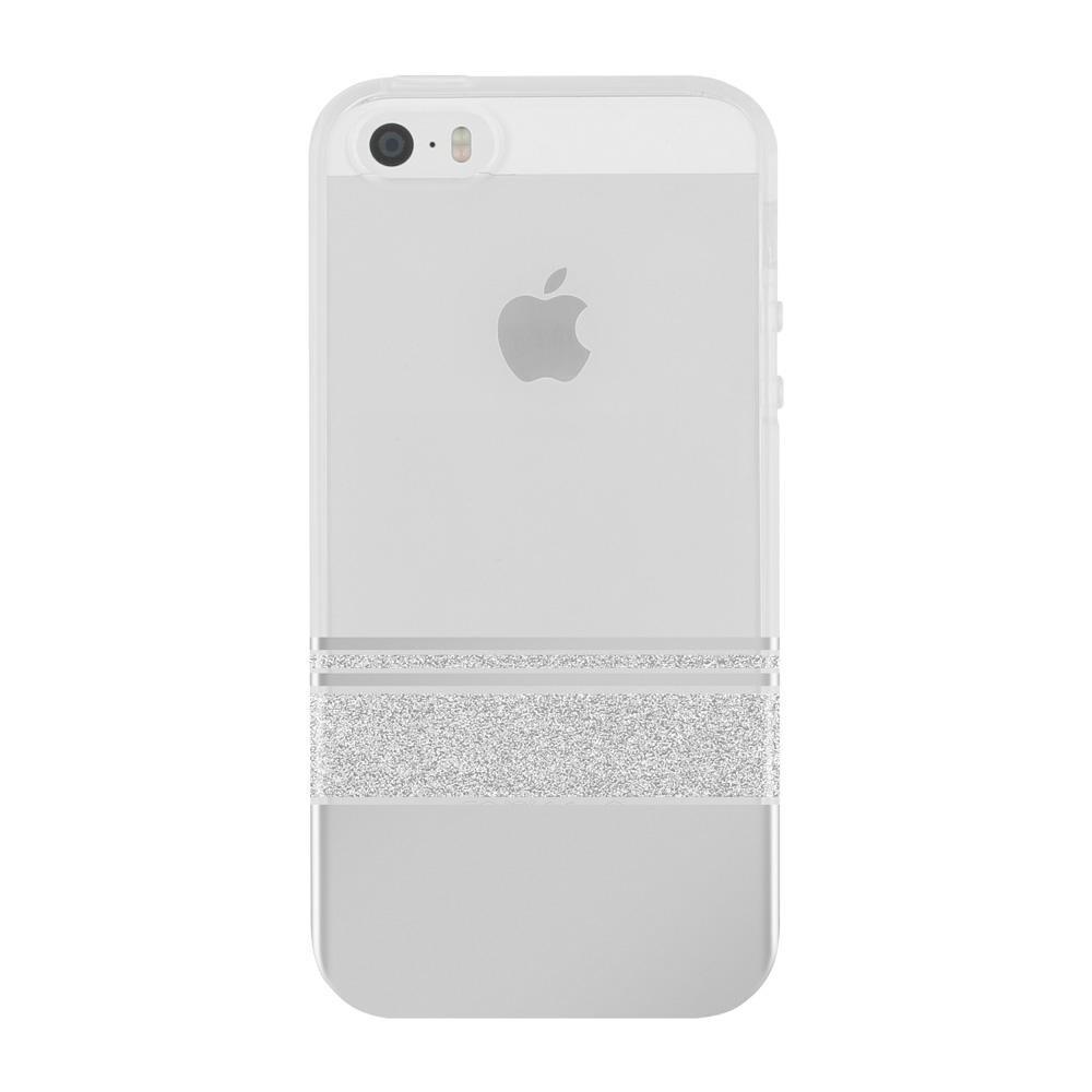 Чехол Incipio Wesley Stripes Design Series Silver для iPhone 5/5S/SE