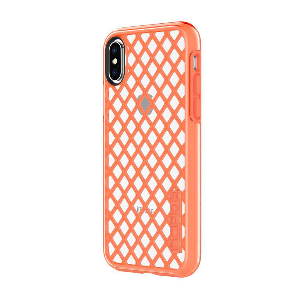 Противоударный чехол Incipio DualPro Sport Coral/Clear для iPhone X/XS