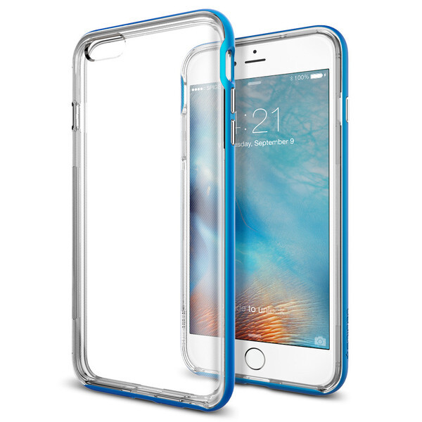 Бампер Spigen Neo Hybrid EX Electric Blue для iPhone 6 Plus/6s Plus