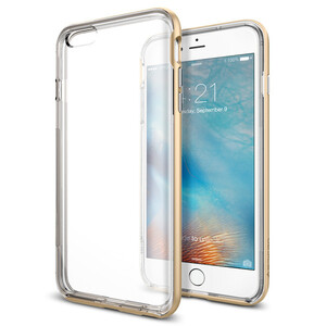 Купить Бампер Spigen Neo Hybrid EX Champagne Gold для iPhone 6/6s Plus