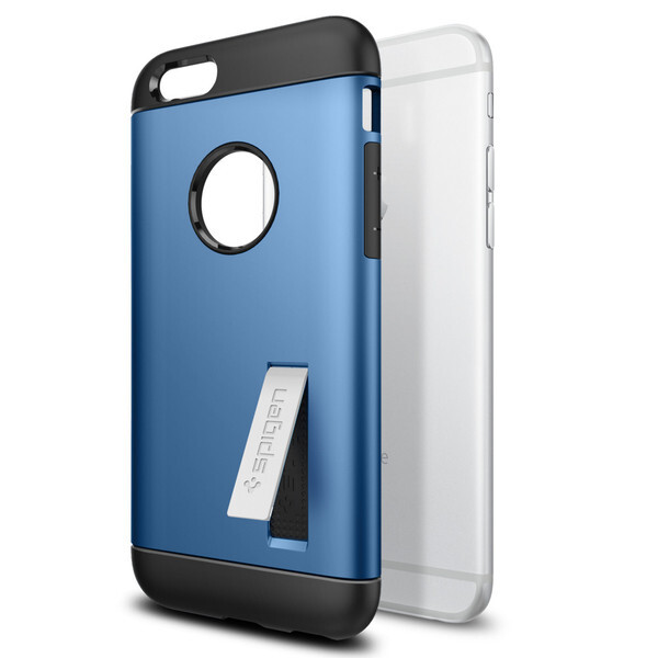 Чехол Spigen Slim Armor Electric Blue для iPhone 6/6s