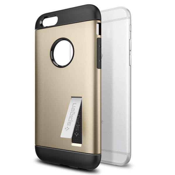 Чехол Spigen Slim Armor Champagne Gold для iPhone 6/6s