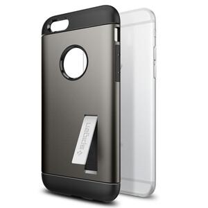 Купить Чехол Spigen Slim Armor Gunmetal для iPhone 6/6s