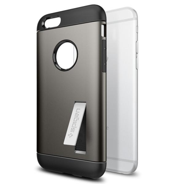 Чехол Spigen Slim Armor Gunmetal для iPhone 6/6s