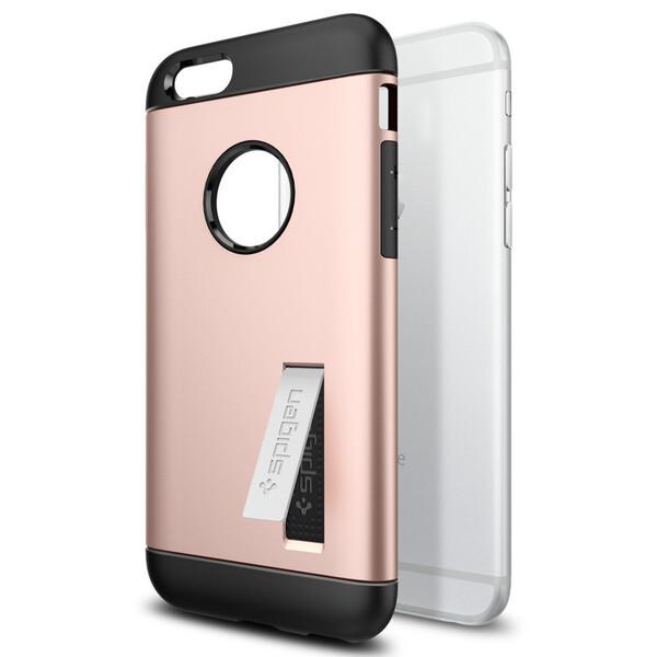 Чехол Spigen Slim Armor Rose Gold для iPhone 6/6s
