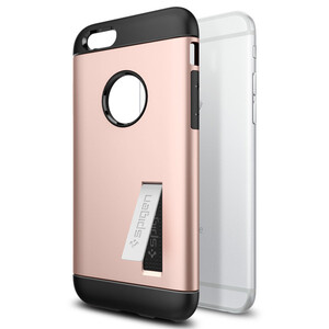 Купить Чехол Spigen Slim Armor Rose Gold для iPhone 6/6s