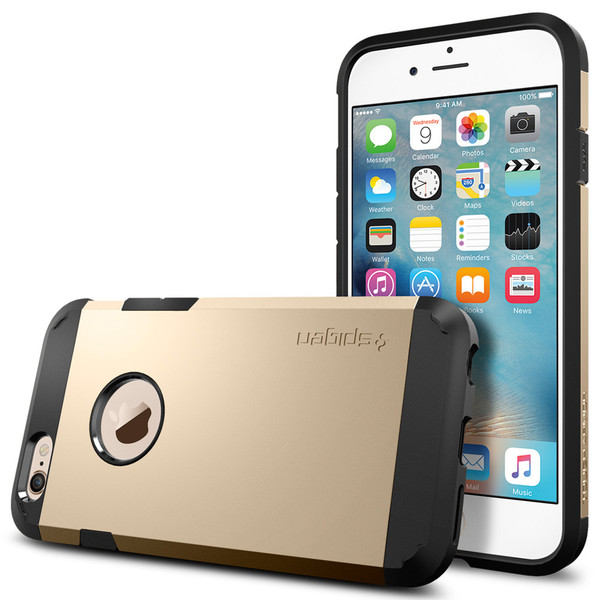 Чехол Spigen Tough Armor Champagne Gold для iPhone 6/6s