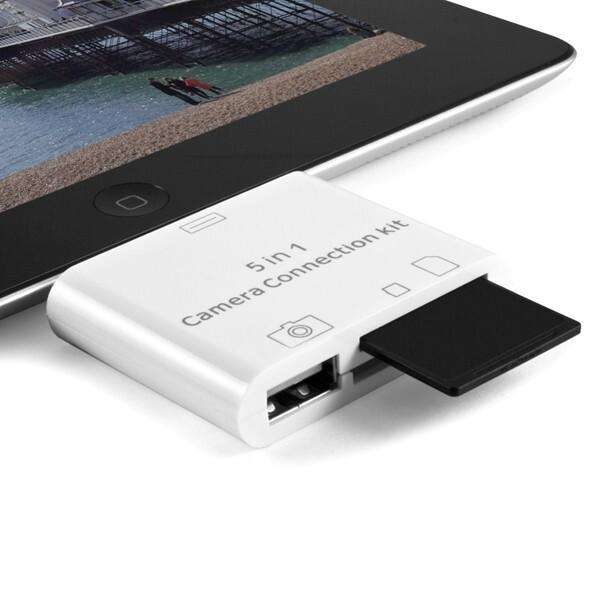 Адаптер Camera Connection Kit 5-in-1 iOS8 для iPad Pro/iPad 4/iPad Air/iPad Mini/iPad Mini 2