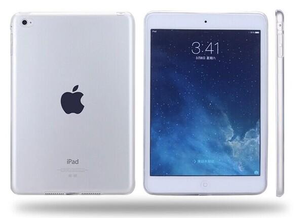 Прозрачный силиконовый чехол iLoungeMax ClearGel для iPad Air 2