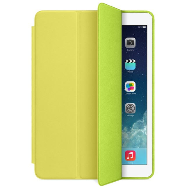 Чехол Apple Smart Case Yellow для iPad Air