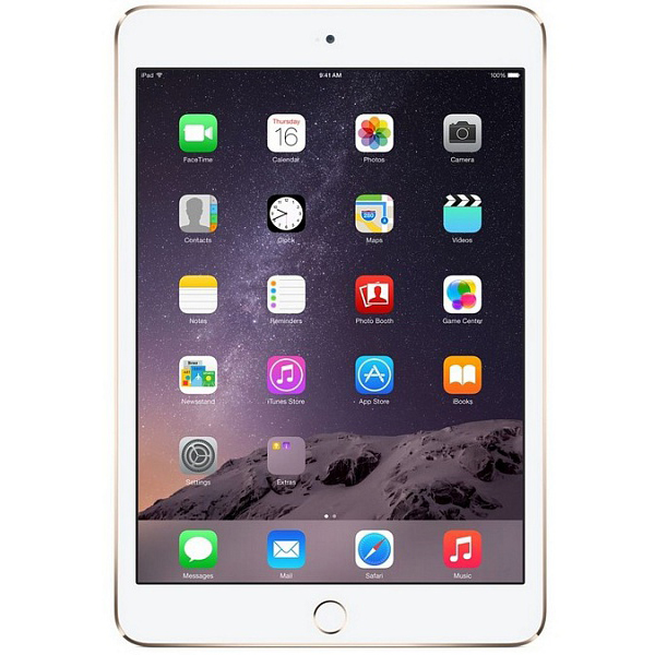 iPad mini 3 Gold 64GB Wi-Fi + LTE (3G/4G)