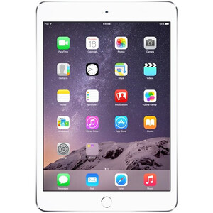 Купить iPad mini 3 Silver 16GB Wi-Fi + LTE (3G/4G)