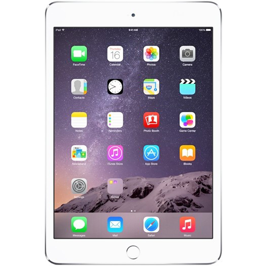 iPad mini 3 Silver 64GB Wi-Fi + LTE (3G/4G)