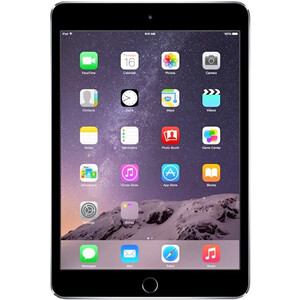 Купить iPad mini 3 Space Gray 16GB Wi-Fi + LTE (3G/4G)