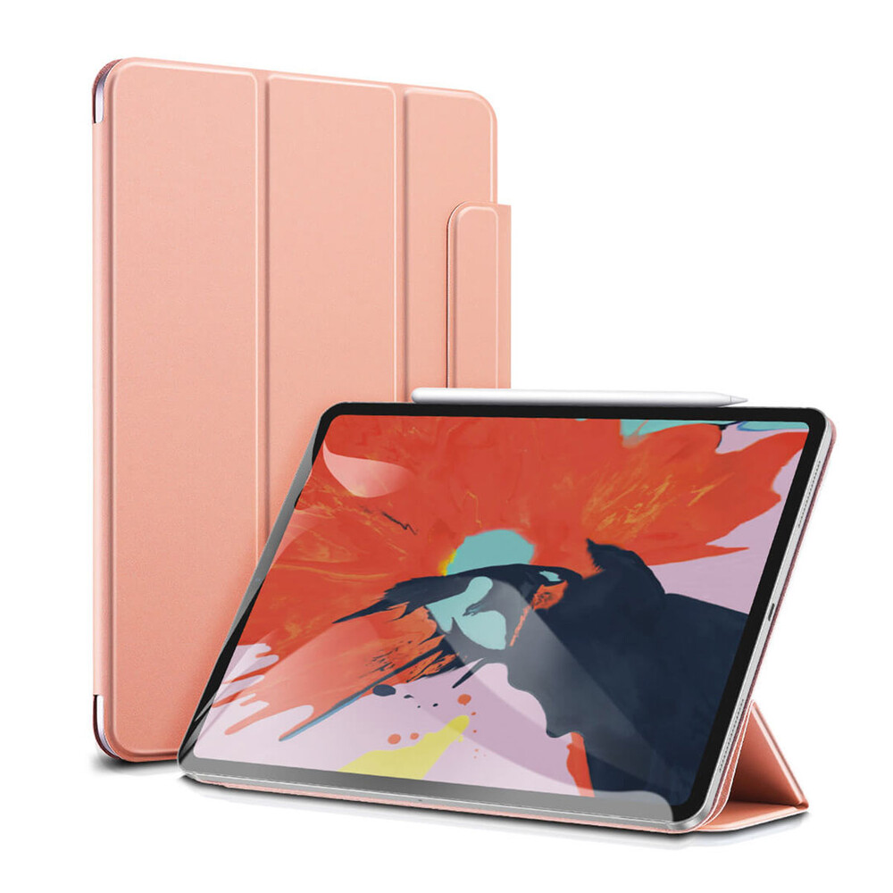 Купить Чехол-книжка ESR Rebound Magnetic Rose Gold для iPad Air 4 |  Pro 11″ (2020)