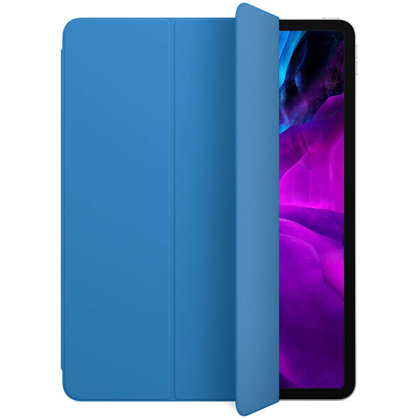 "Чехол Apple Smart Folio Surf Blue для iPad Pro 12.9"" (2021 | 2020 | 2018) (MXTD2)"