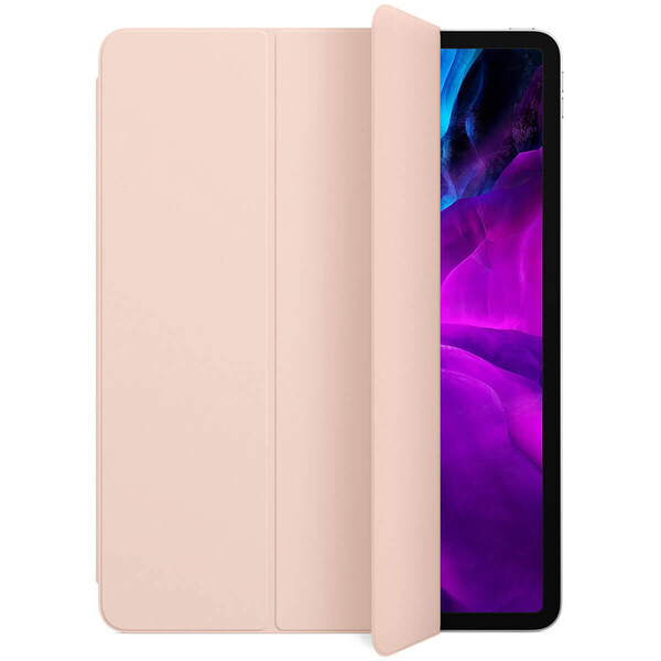 "Чехол-обложка для iPad Pro 12.9"" (2020) iLoungeMax Smart Folio Pink Sand OEM (MXTA2)"