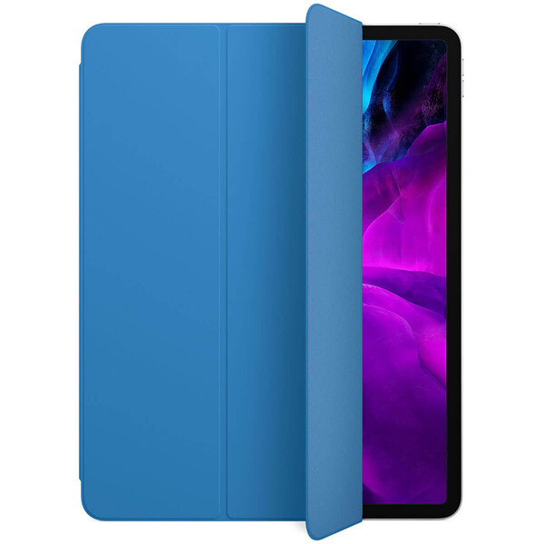 "Чехол-обложка для iPad Pro 12.9"" (2020) iLoungeMax Smart Folio Surf Blue OEM (MXTD2)"