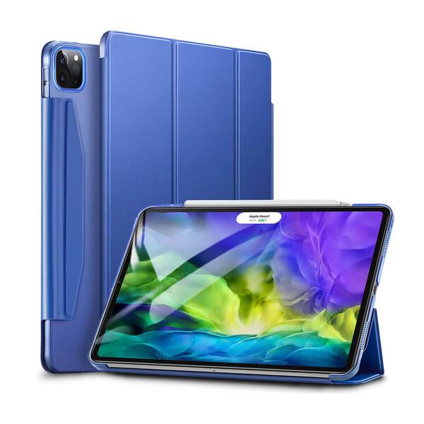"""Чехол-книжка ESR Yippee Trifold Blue для iPad Pro 12.9"""" (2020)"""