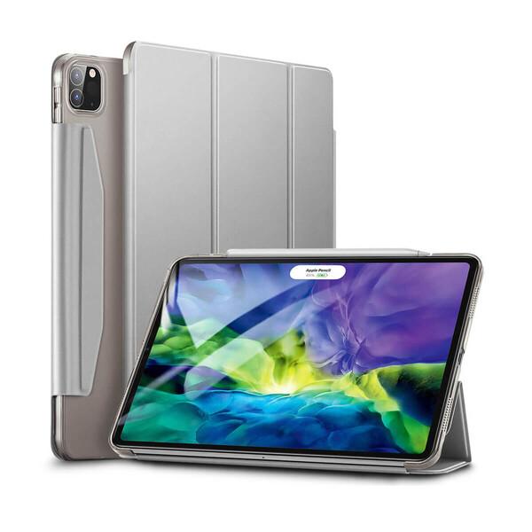 """Чехол-книжка ESR Yippee Trifold Silver Gray для iPad Pro 12.9"""" (2020)"""