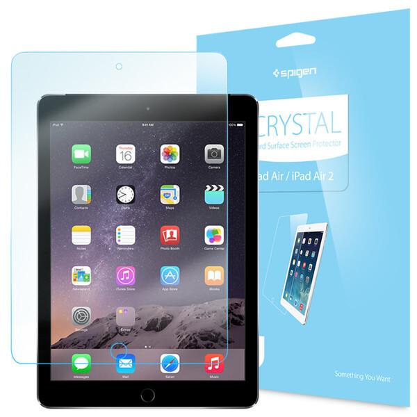 Защитная пленка Spigen Steinheil Crystal для iPad Air/Air 2
