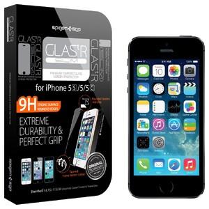 Купить Защитное стекло Spigen SGP GLAS.tR SLIM для iPhone 5/5S/SE/5C