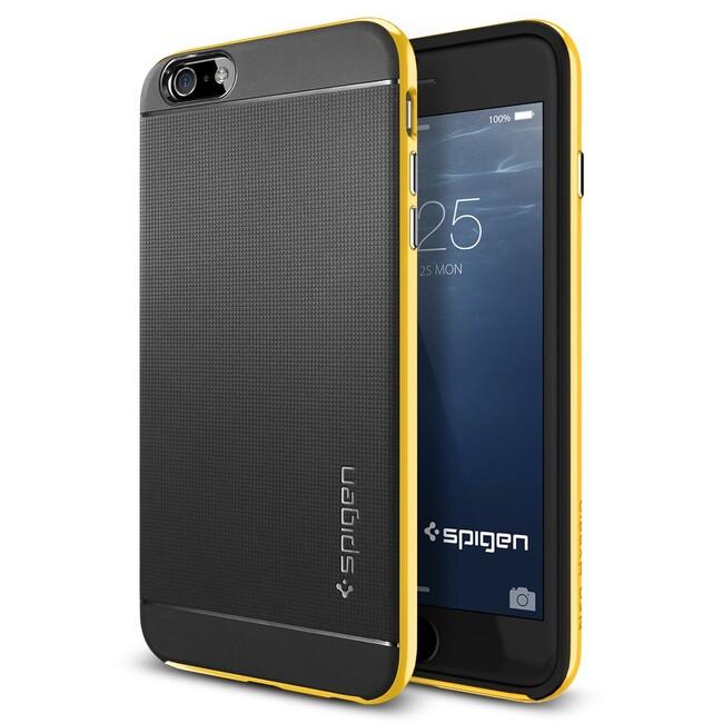 Чехол Spigen Neo Hybrid Reventon Yellow для iPhone 6/6s Plus